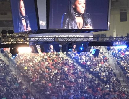 Simone Biles Speaks at Liberty University Convocation